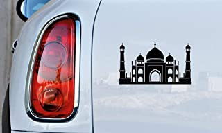 Mosque Place of Worship Islam Muslim Mecca Vinyl Decal Laptop Car Truck Bumper Window Sticker (Black)