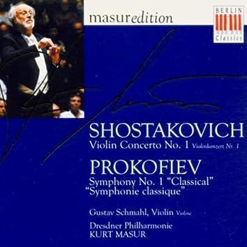"""Shostakovich: Violin Concerto No. 1 - Prokofiev: Symphony No. 1 """"Symphonie Classique"""""""