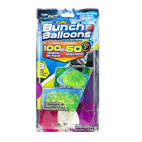 X-Shot – Pack aus 100 Wasserballons, Bunch O Balloons (Colorbaby 42717)