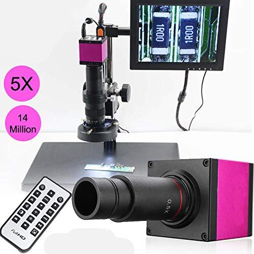 TQ 14MP 1080P 32G Digitales Industrie-Videomikroskop-Kamera-Zoomobjektiv + Fernbedienung