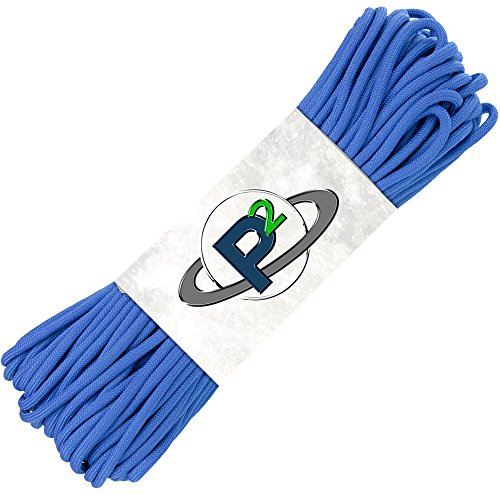 Best Review Of PARACORD PLANET Mil-Spec Commercial Grade 550lb Type III Nylon Paracord (Royal Blue, ...
