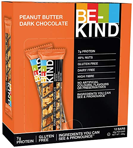BE KIND Peanut Butter Dark Chocolate, 12er Pack (12 Riegel à 40 g)