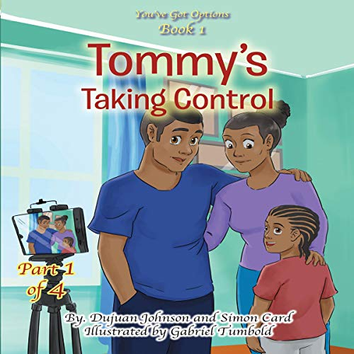 Tommy's Taking Control audiobook cover art