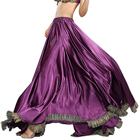 ROYAL SMEELA Belly Dance Skirt Belly Dance Costume for Women Belly Dancing Skirts Slit Maxi product image