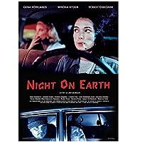 Night on Earth(1991)ポスターとプリント映画ポスターアート静止画装飾リビングルーム寝室キャンバス壁にプリント-24x32インチフレームなし