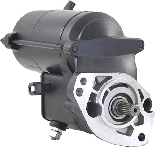 Rareelectrical HIGH TORQUE STARTER COMPATIBLE WITH HARLEY DAVIDSON HERITAGE FAT BOY ROAD GLIDE POLICE 1340 1450