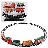 Jouet de Voiture de Circuit, Train électrique Jouet Cadeau de Noël pour Enfants