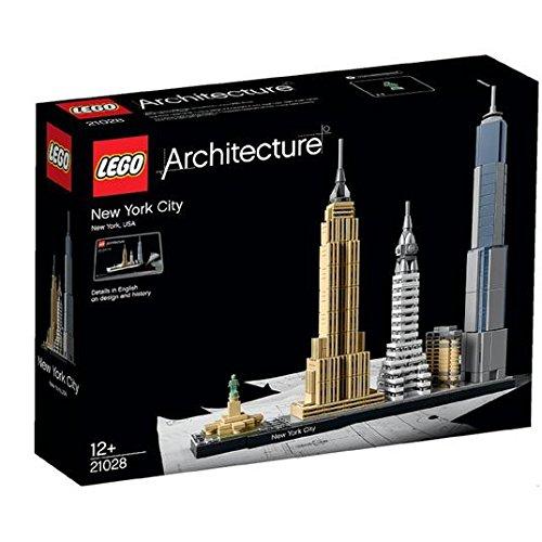 LEGO architecture New York City 21028 12+
