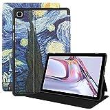 VOVIPO Funda Delgada para Galaxy Tab A7 10.4 2020 - Funda Protectora ultradelgada de TPU con protección contra caídas y ángulos de visión múltiple para Galaxy Tab A7 10.4 SM-T500 / T505 / T507