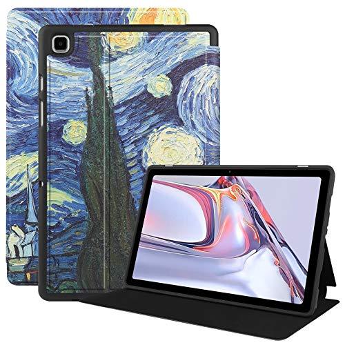 VOVIPO Coque pour Samsung Galaxy Tab A7 10.4 2020,Housse de Protection en Cuir PU de Haute Qualité pour Samsung Galaxy Tab A7 SM-T500/T505/T507