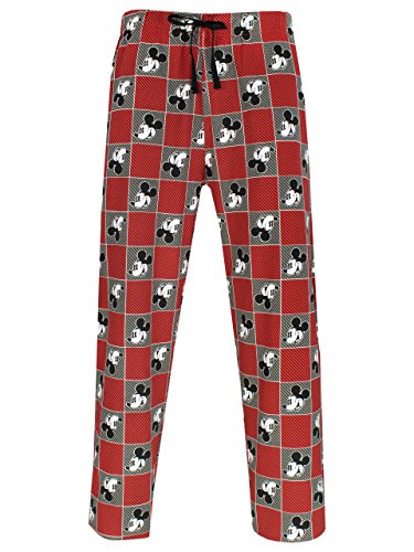Disney Mickey Mouse Herren Mickey Mouse Schlafanzughose Small