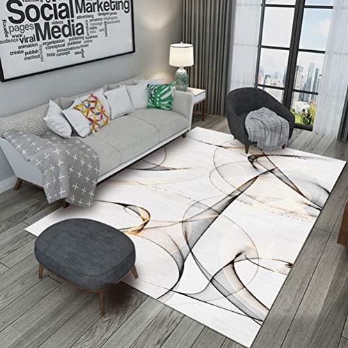 QUD Bella Arte Alfombra de la Sala de Gran tamaño Alfombras Antideslizante tapetes Moderno Dormitorio Sofá Tabla Decorativo Manta...