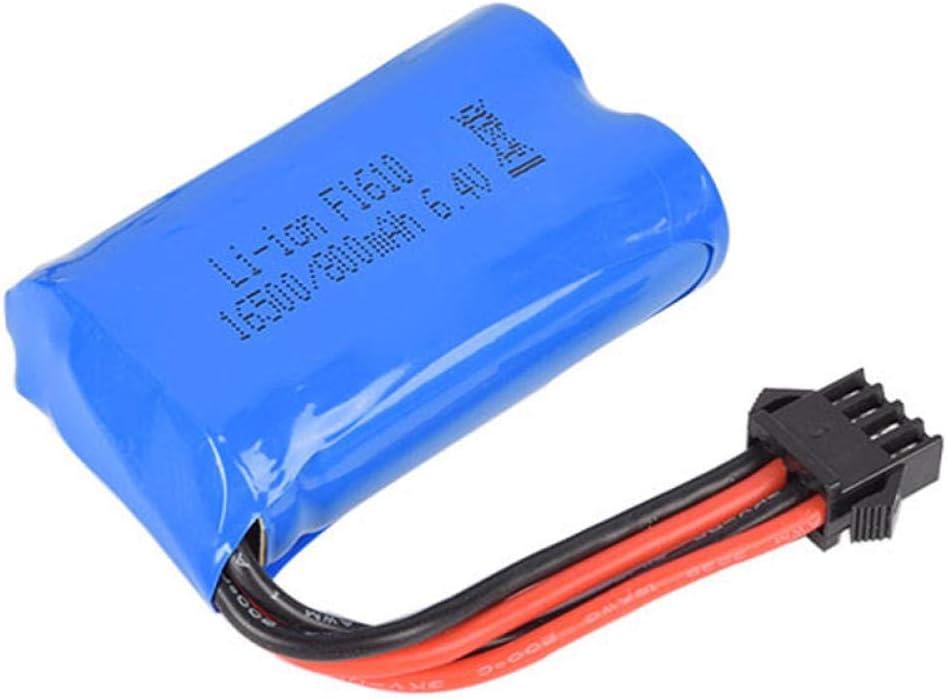 6.4V 800mAh 15C Quality inspection 16500 Li-Ion Raleigh Mall SM-4P RC Toy Battery