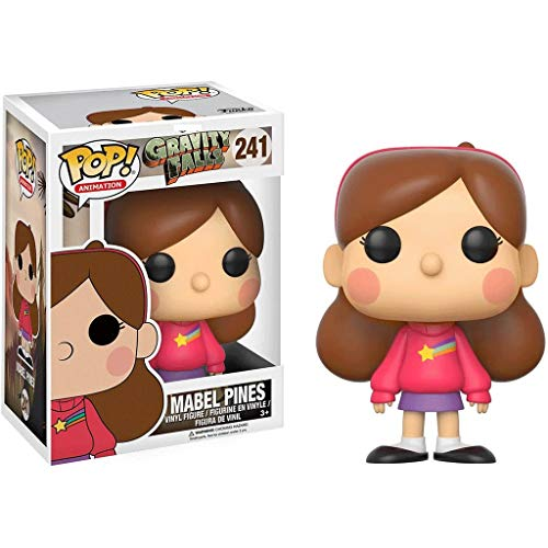 Funko Pop Animation : Gravity Falls - Mabel Pines 3.75inch Vinyl Gift for Anime Fans SuperCollection