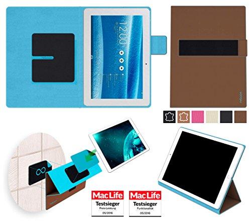 Hülle für Asus MeMO Pad 10 ME103K Tasche Cover Hülle Bumper | in Braun | Testsieger
