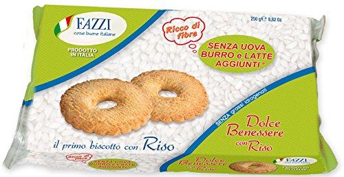 12 x Fazzi Dolce Benessere Senza Uova Burro e Latte aggiunti con RISO (12 confezioni)