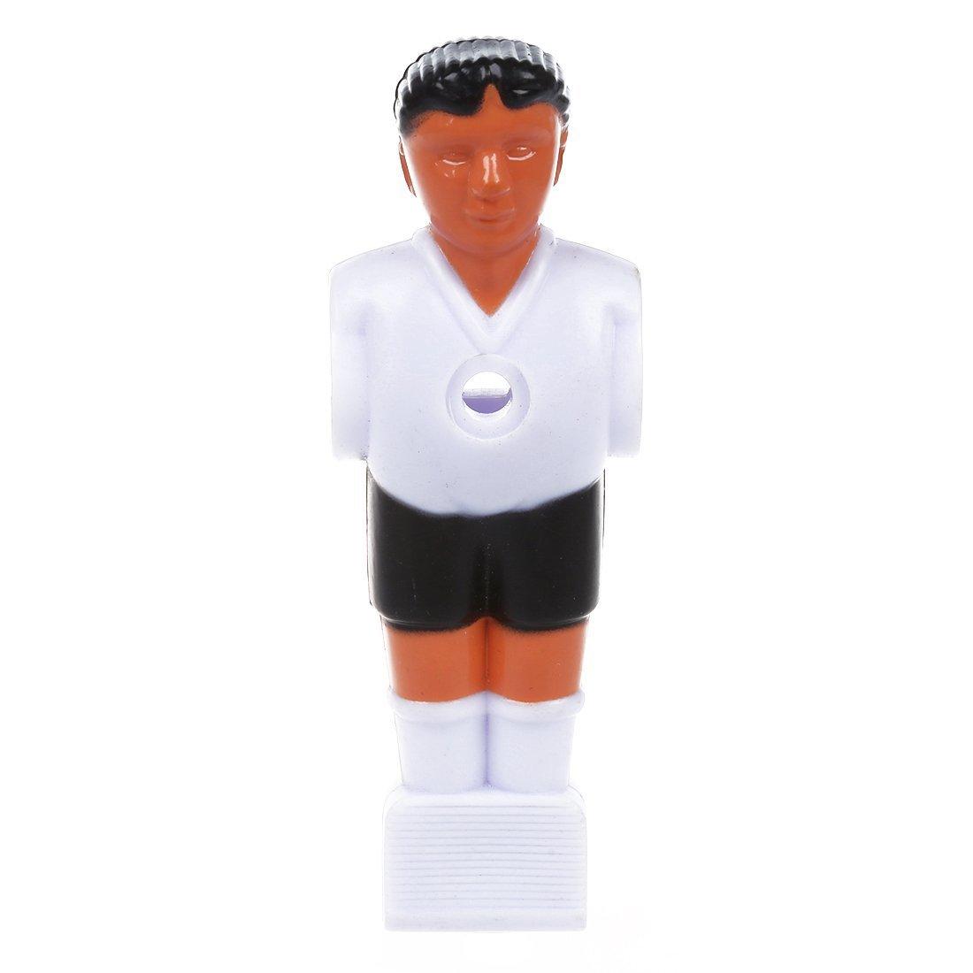 TOOGOO(R)Jugador de futbol Hombre de futbolin - Blanco: Amazon.es: Juguetes y juegos