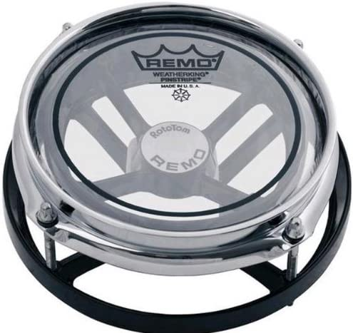 Remo ER-0010-06 10-Inch Pinstripe Selling and selling Heads Rototom Max 79% OFF Cl Epoxy Black