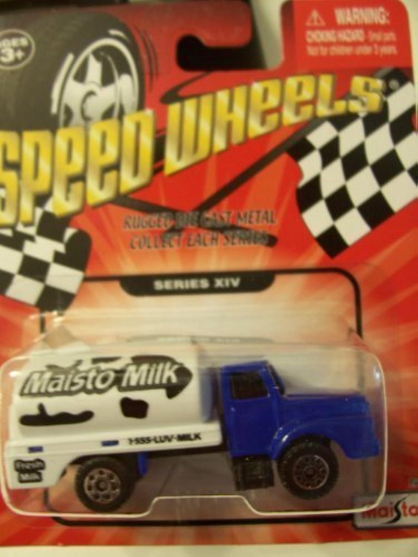 Speed Wheels Maisto Milk Truck (Series XIV) by Maisto
