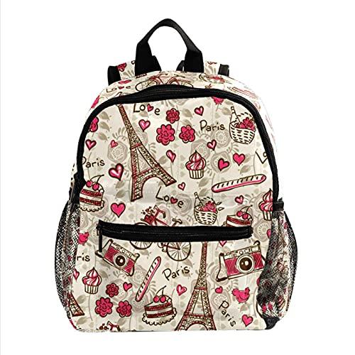Mochila para Niñas Niños Bolsa de Escuelas Niños Librero Mujeres Casual Daypack...