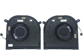 ZHAWULEEFB Replacement New CPU+GPU Cooling Fan for Dell XPS 17 9700 Precision 5750 P/N:0XR6Y 0C4YVP EG50050S1-CG11-S9A DC5...