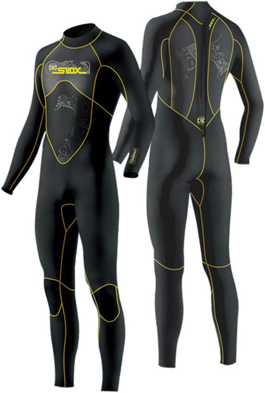 JASQSY Scuba Diving Wetsuit Men 3mm Diving Suit Neoprene Swimming Swimming Swimming Neoprene Swimming Triathlon Wet Suit Swimsuit Full Bodysuit,L B07NZ2PC5Q  Angemessene Lieferung und pünktliche Lieferung 146d5d