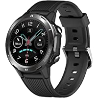 UMIDIGI Uwatch GT 47mm Waterproof Smart Watch Fitness Tracker with Heart Rate Monitor (Matte Black)