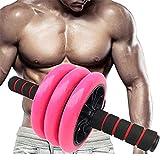 Formateur Abdominal Roue Abdominale équipement d'exercice Abdominal Roller d'exercice Abdominal hsvbkwm