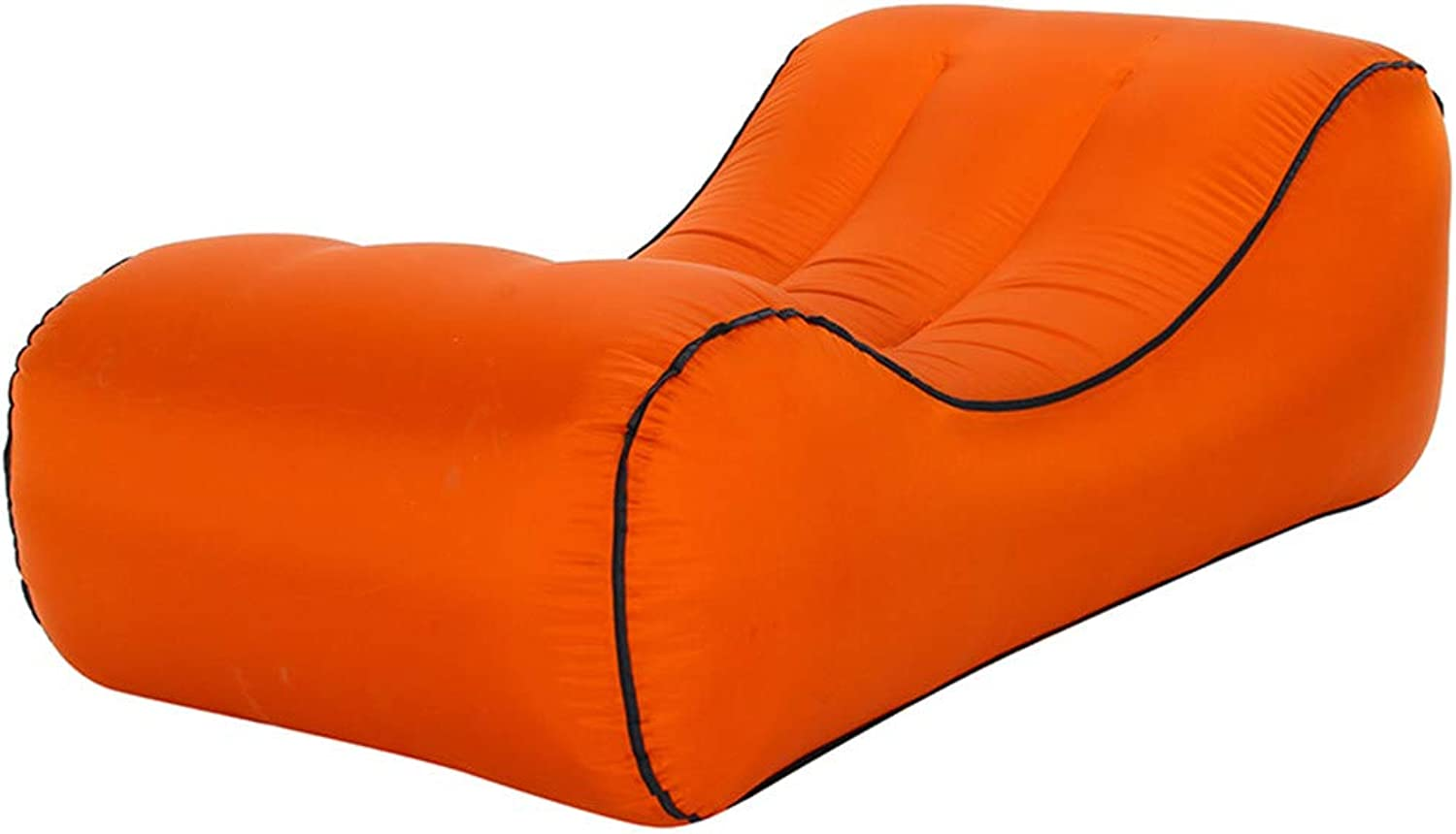 Outdoor Portable Water Inflatable Sofa, Sports Inflatable Chair Recliner, air Sofa and Camping Chair Single Easy to inflate Waterproof and Leakproof