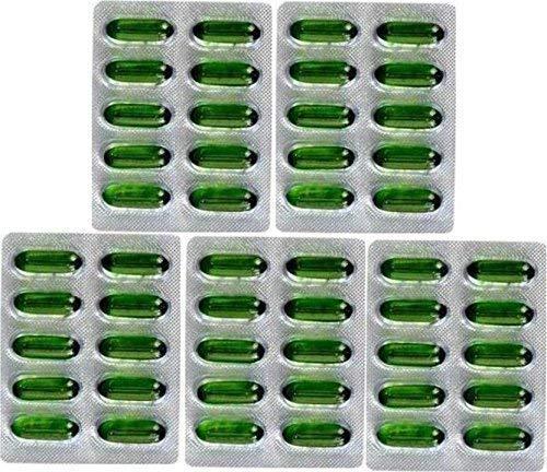 Set di 50capsule Evion di vitamina E per un viso luminoso, capelli forti, riduzione dell'acne, unghie rafforzate e pelle luminosa, 400mg
