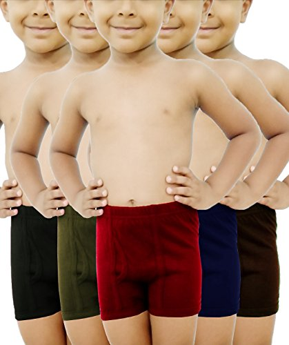 HAP Boys Trunks | Pack of Five |Innerwear/Boxer/Drawer