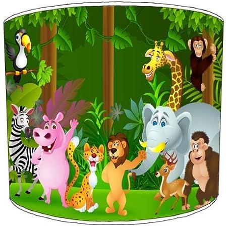 Premier Lighting Zoo Jungle Animals Abat-Jour pour Enfants - 12 inch pour Un plafonnier