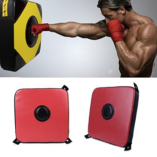 Lyqdxd Colpitore da boxe portatile, in schiuma, per allenamento, fitness, boxe, bersaglio da parete