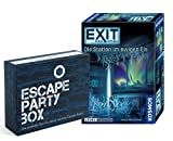 EXIT Das Spiel - Set: Die Station im EIS + Escape Party Box (pegatinas, póster, Knobelei), para 1 a 4 jugadores a partir de 12 años