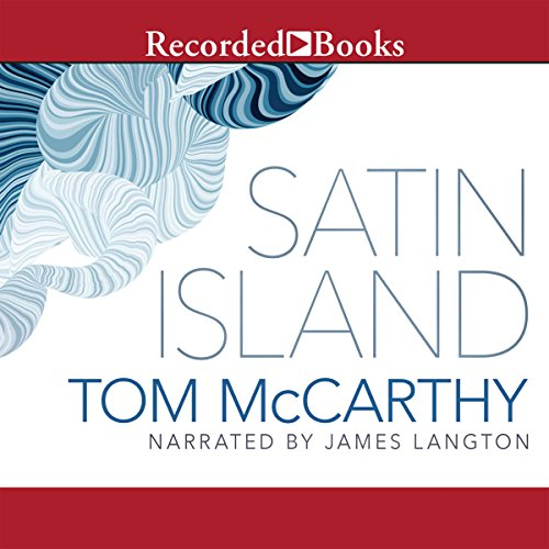 Satin Island audiobook cover art