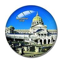 アメリカアメリカハリスバーグペンシルベニア州議会議事堂冷蔵庫マグネットホワイトボードマグネットオフィスキッチンデコレーション