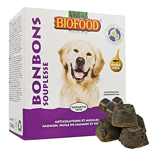 BIOFOOD - Bonbons pour Chiens - SOUPLESSE - 40p.