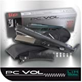 Lim Hair Plancha de pelo PC Vol Deep Micro Wave. Volumizer Crimper
