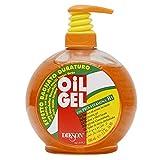 Dikson - Gel para el pelo profesional para hombre, efecto mojado, 500 ml, abrillantador, 500 ml, no graso para peluquería