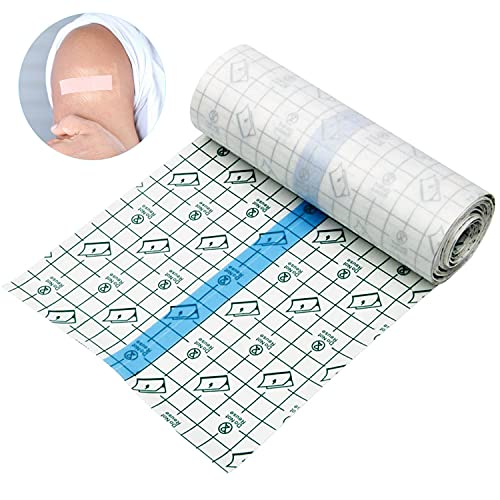 Tattoo Aftercare Waterproof Tattoo Bandage Roll Transparent Film Dressing Second Skin Tattoo Healing Tape Protective Clear Adhesive Bandages Tattoo Supplies 6x40inchesTattoo Wrap Bandage