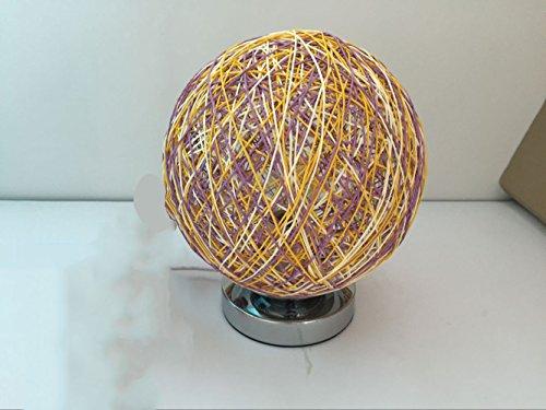 Lampe de chevet de chambre à coucher Lampe de table d'étude de salon Lampe de table de décoration de mariage (couleur : I)