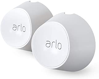 Arlo Certified Accessory - Magnetic Wall Mounts - Set of 2, Indoor or Outdoor Use, Compatible with Arlo Ultra, Ultra 2, Pr...