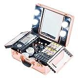 Kemier Makeup Train Case - Cosmetic...