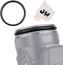 58mm Metal Lens Filter Adapter Ring for Canon SX70 HS, SX60 HS, SX50 HS, SX40 HS, SX30 is, SX20 is, SX10 is, SX1 is, SX540 HS, SX530 HS, SX520 HS Digital Camera Replaces Canon FA-DC67A Adapter Ring