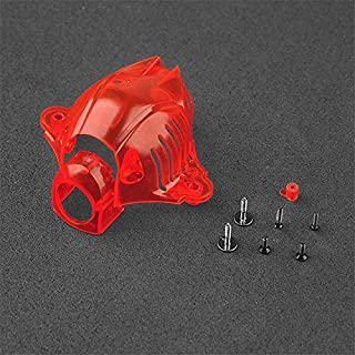 Hockus Accessories Happymodel Snapper 6 7 Camera Cover Canopy Suitable for All Tiny Whoop Bwoop65 Bwhoop75 Brushed or Brushless Drone Frame Kit - (Color: Red)