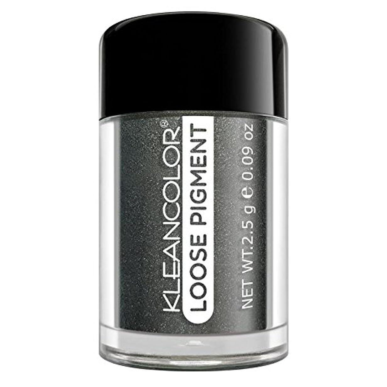 遅らせるうがい円形(3 Pack) KLEANCOLOR Loose Pigment Eyeshadow - Steel Me Away (並行輸入品)