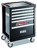 Usag u05180106518sp6V carro sprint-6casseti (vacío), multicolor