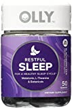 OLLY Restful Sleep Gummy Supplements, Blackberry Zen, AssortedSize 2Pack ( 100 Count Each )
