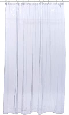 Kuber Industries PVC AC Curtain-8ft 0.45mm Transparent (CKTS11)