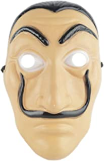 Face Mask La Casa De Papel Mask Salvador Dali Mascara Masque Money Heist Cosplay Props Toy